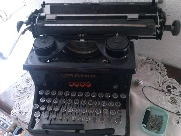 Schreibmaschine Urania für Sammler