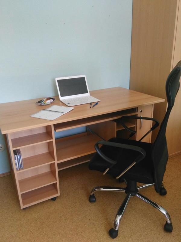 schreibtisch stuhl gebraucht kaufen nur 4 st bis 75. Black Bedroom Furniture Sets. Home Design Ideas