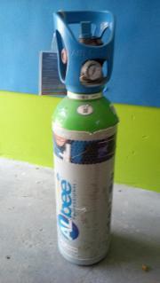Schutzgasflache Voll