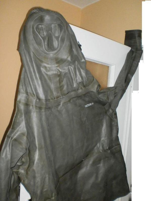 schwere Gummi Latex Arbeits-Jacke schwere