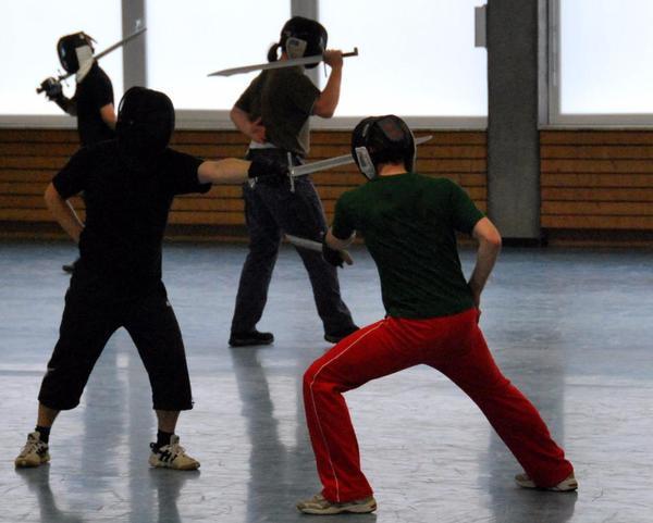 Schwertkampf und Kampfkunst » Kampfsport