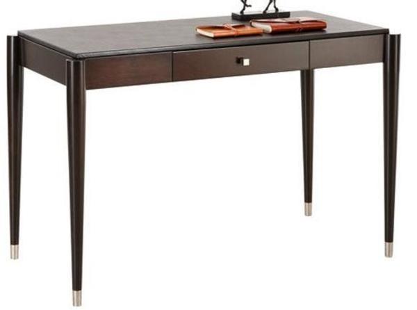 selva schreibtisch regal und lederstuhl in der farbe wenge und schwarzem leder zu verkaufen in. Black Bedroom Furniture Sets. Home Design Ideas