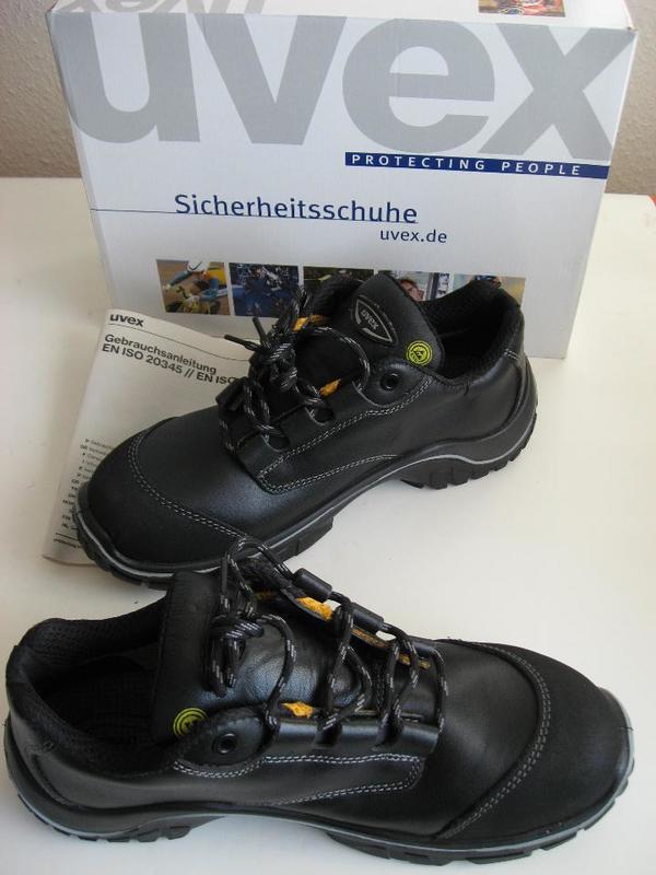 cheap for discount f403a aa53f Sicherheitsschuhe UVEX - NEU - S3 Motion Light Halbschuhe ...