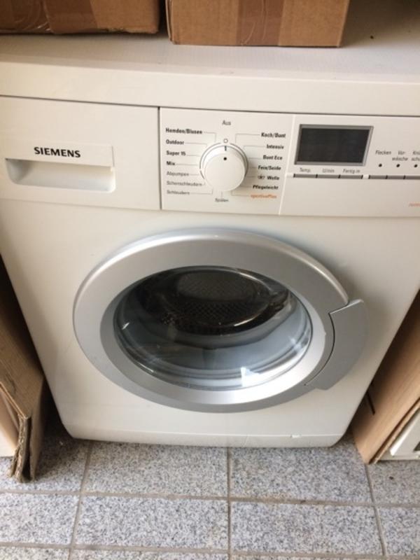 siemens waschmaschine neu und gebraucht kaufen bei. Black Bedroom Furniture Sets. Home Design Ideas
