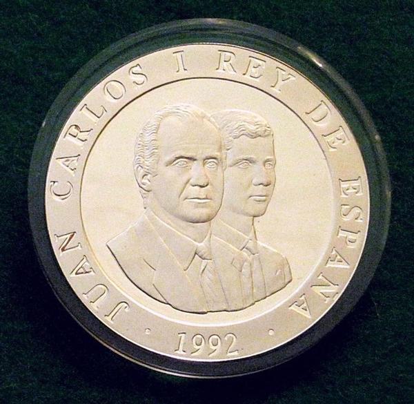 Silbermünzen 2000 PTAS » Münzen