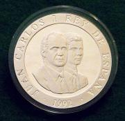 Silbermünzen 2000 PTAS Olympiade Barcelona