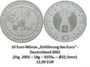Silbermünzen verschiedene