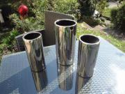 Silberne Hohe Vasen