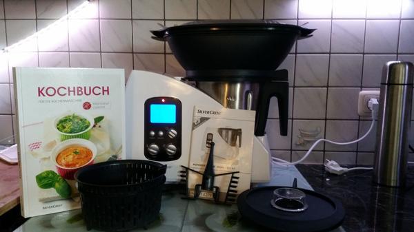 SILVERCREST® Küchenmaschine Monsieur Cuisine SKMH 1100 A1 in ...