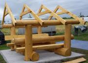 Sitzgruppe mit Dach