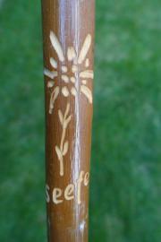 Spazierstock aus Holz