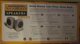 Soundkarten, Lautsprecher - Speakers SBS35 Cambridge Soundworks