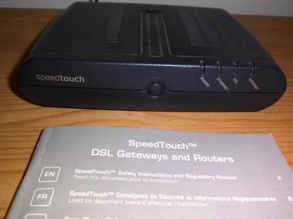 Speedtouch DSL Router
