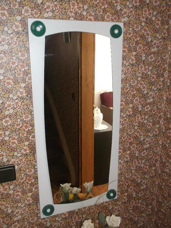 Spiegel Garderobe 70er Jahre guter