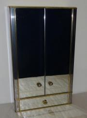Spiegelschrank Metalkris, Badezimmerschrank,