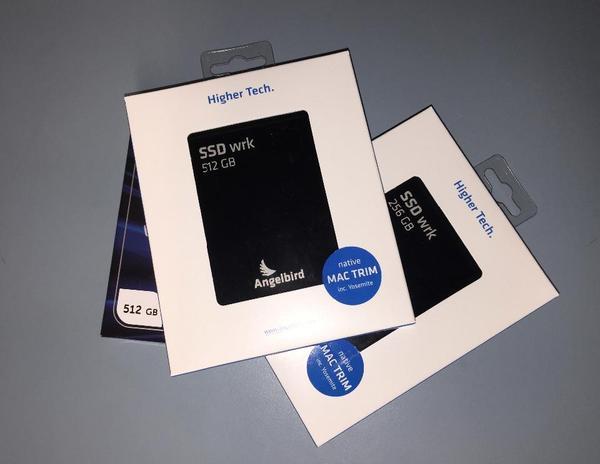 SSD Solid State Drive Aufrüstungen