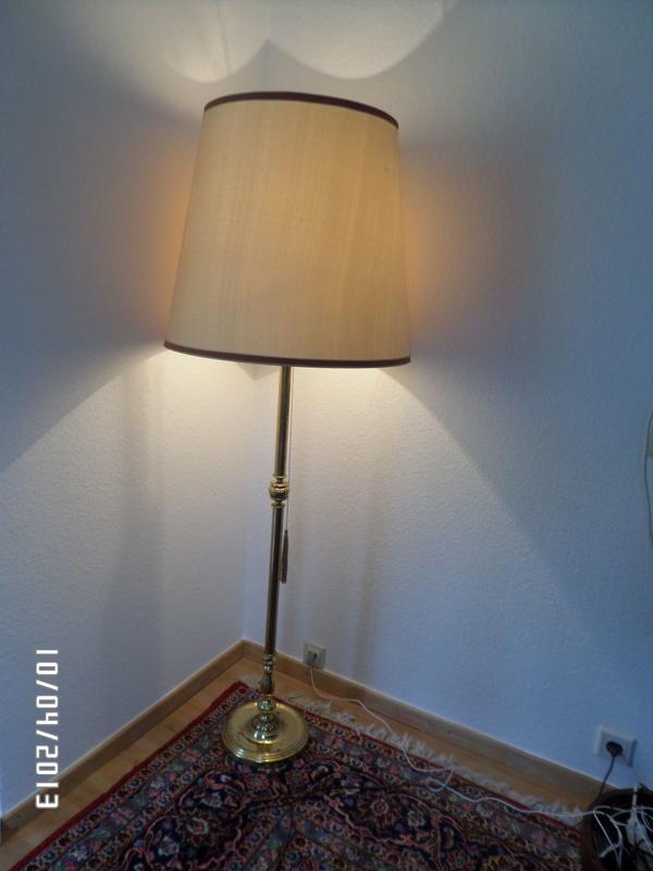 stehlampe messing kaufen stehlampe messing gebraucht. Black Bedroom Furniture Sets. Home Design Ideas