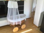 Stubenkorb babywiege großer stubenwagen babykorb bettwäsch