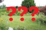 Suche Kleingarten/Grundstück
