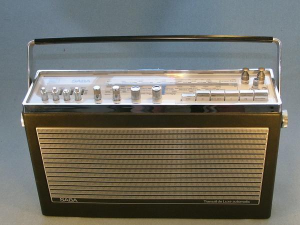 Suche Kofferradio SABA Transall De