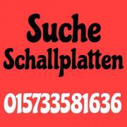 suche Schallplatten,Cds