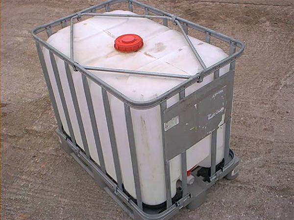 Großartig Tank NUR 80 cm breit !! IBC 600 l Regenwassertank Wassertank  UQ48