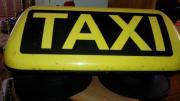 Taxidachzeichen