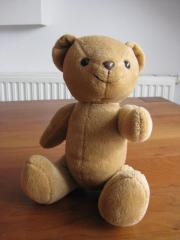 Teddybär aus Plüsch