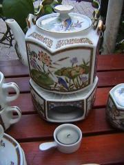 Teeservice für 3