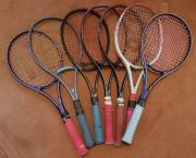 Tennisschläger von Dunlop,