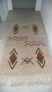 Teppich Berber selbstgeknüpft Unikat 96