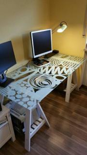 Schreibtischplatte ikea  Ikea Schreibtisch in Nürnberg - Haushalt & Möbel - gebraucht und ...