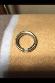 Titan Ring Blautopas
