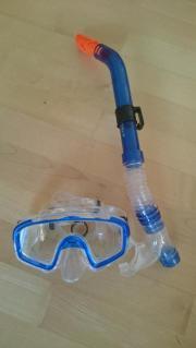 Tuchbrille mit Schnorchel