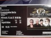 U2 Berlin - Ticket