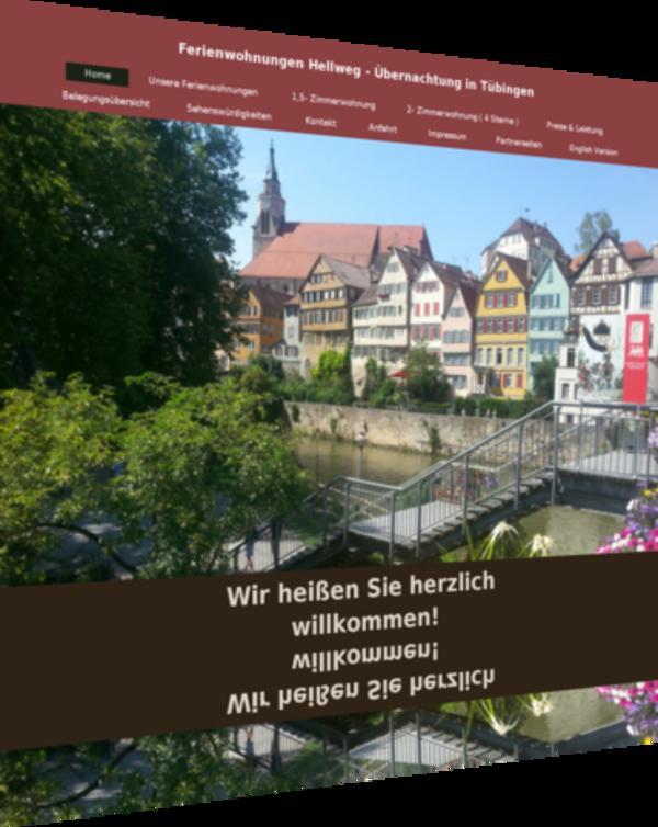 Übernachtung in Tübingen - » Ferienhäuser, - wohnungen