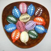 umhäkelte Eier