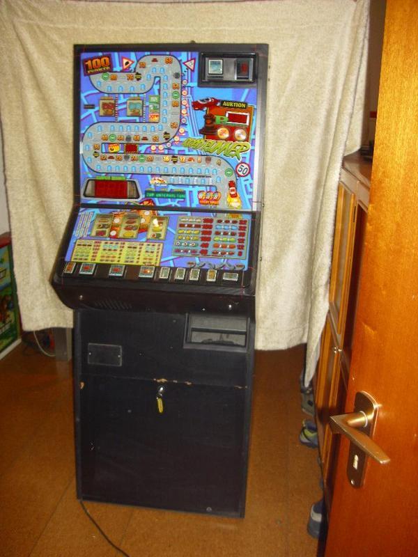 spielautomaten mit münzeinwurf