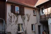 v Privat Hof Wohnhaus Hofreite