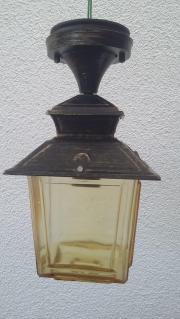 Verkaufe gebrauchte Flur Außenlampe