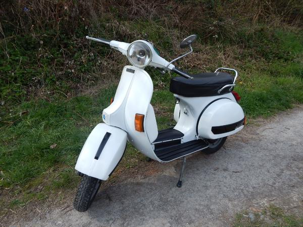 vespa px 80 mit 134 ccm oldtimer bj 1982 t v neu bis 05. Black Bedroom Furniture Sets. Home Design Ideas