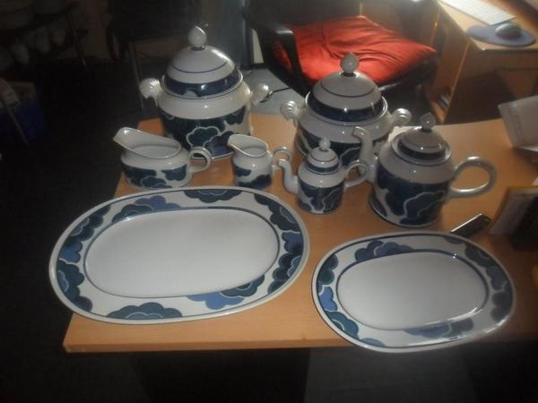 Villeroy & Bochh Blue » Geschirr und Besteck
