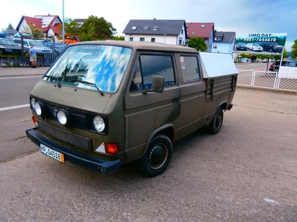 volkswagen t3 doka pritsche in viernheim kleinbusse transporter kaufen und verkaufen ber. Black Bedroom Furniture Sets. Home Design Ideas