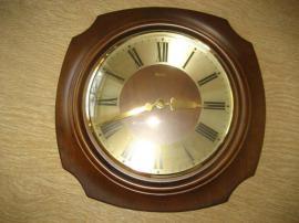 Bild 4 - Wanduhr Holzuhr Wohnzimmeruhr Zimmeruhr Uhr - Birkenheide Feuerberg