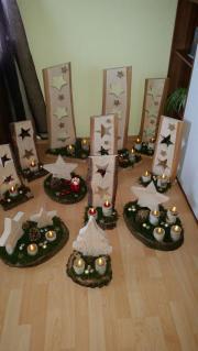 Weihnachtsdeko aus holz haushalt m bel gebraucht und for Weihnachtsdeko aus rost