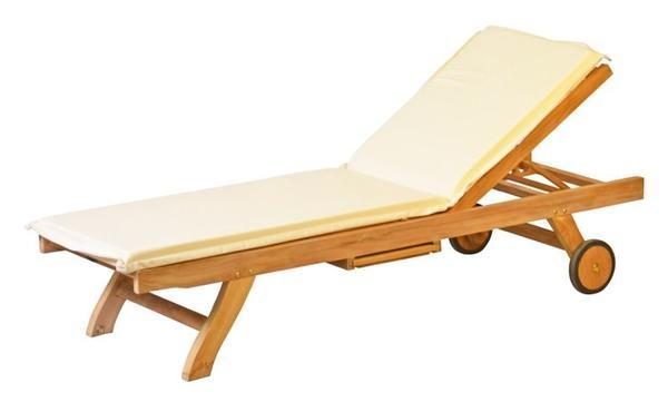 wichmann gartenliege aus teakholz kai wichmann solln klassisch hochwertig in m nchen. Black Bedroom Furniture Sets. Home Design Ideas