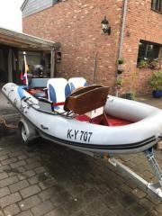 Wiking Schlauchboot mit Motor und