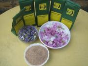 wilde Malveblüten Tee Rohkostqualität gesammelt
