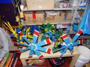 Windspiele aus Holz