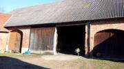 Wohnwagenunterstelplatz in Scheune